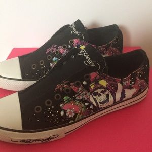 Don Ed Hardy Retro Sneakers